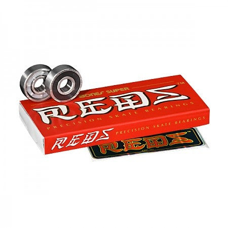 BONES SUPER REDS BEARINGS - Skateboards Amsterdam
