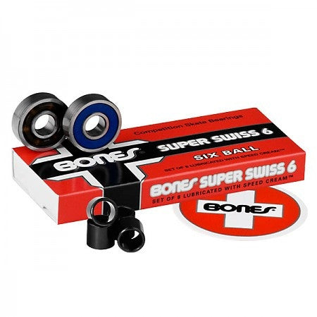 BONES SUPER SWISS 6 BEARINGS - Skateboards Amsterdam