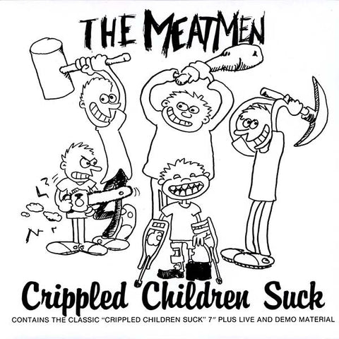 Meatmen-Crippled Children Suck -2nd Hand-