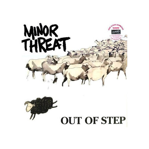 Minor Threat-Out Of Step - Skateboards Amsterdam