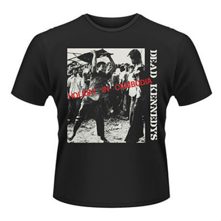 DEAD KENNEDYS HOLIDAY IN CAMBODIA T-SHIRT - Skateboards Amsterdam