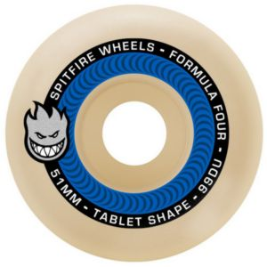 SPITFIRE FORMULA FOUR TABLETS NATURAL 99D 52MM