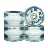 SUNSET LED CRUISER WHEELS 65MM WHITE INCL BEARINGS