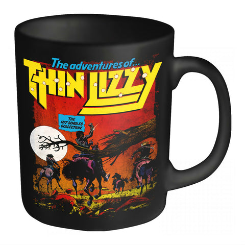 THIN LIZZY BOXED MUG HIT SINGLES ADVENTURES - Skateboards Amsterdam