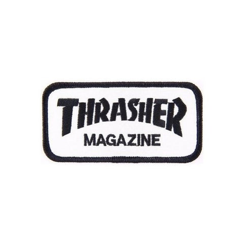 THRASHER PATCH LOGO - Skateboards Amsterdam - 1