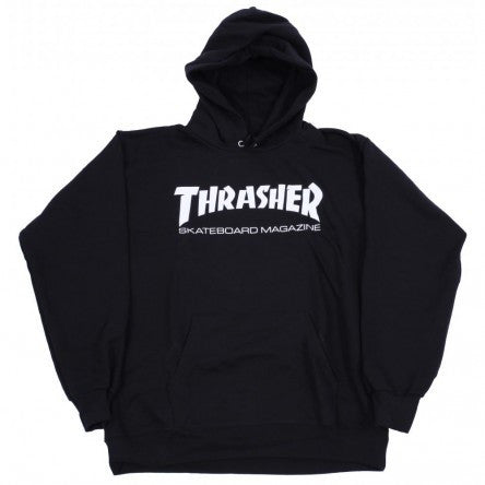 THRASHER SKATE MAG HOODED SWEATER BLACK - Skateboards Amsterdam