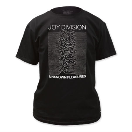 JOY DIVISION UNKNOWN PLEASURES T-SHIRT BLACK - Skateboards Amsterdam