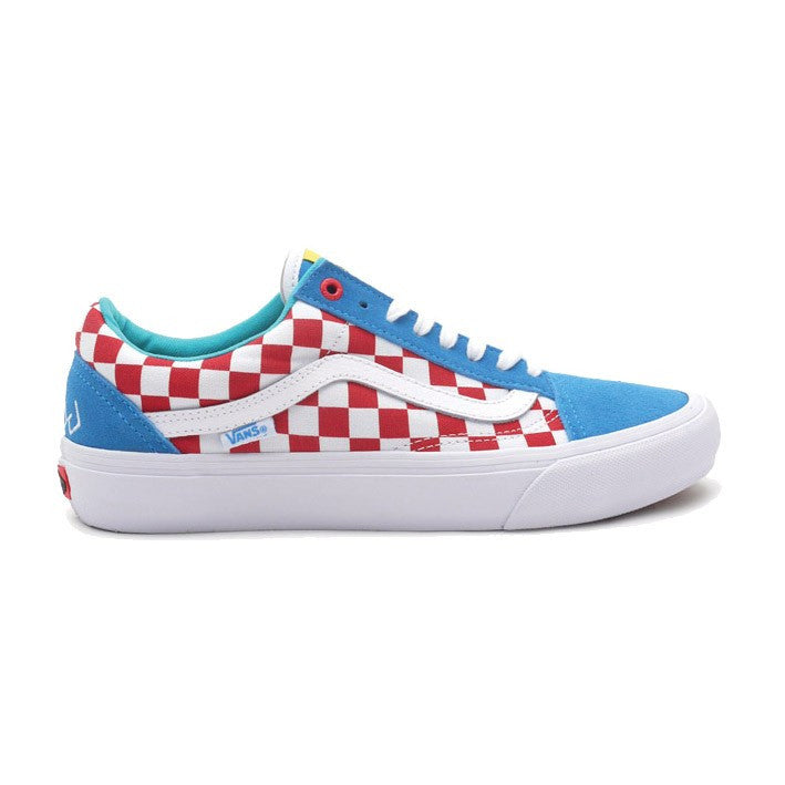 addb43fc4f1b VANS OLD SKOOL PRO (GOLF WANG) BLUE RED WHITE – Skateboards Amsterdam