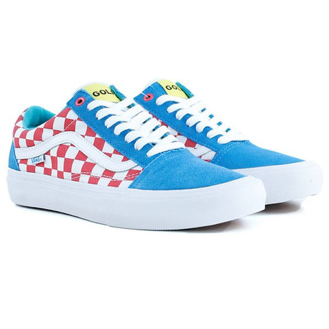 29aaa965233c VANS OLD SKOOL PRO (GOLF WANG) BLUE RED WHITE – Skateboards Amsterdam
