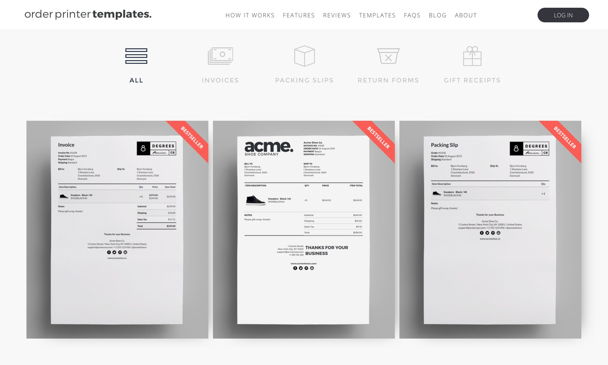 Invoices In Shopify The Definitive Guide Shopify You - Proforma invoice template pdf free download buy online pickup in store same day