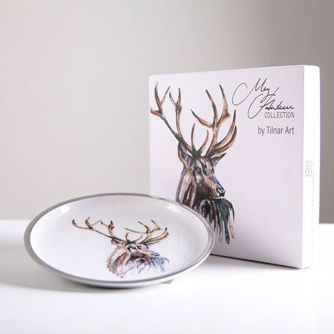 Stag Round Plate 20 cm (min 4)