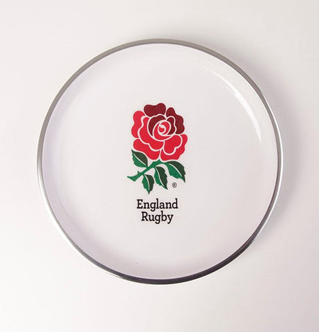England Rugby Round Plate