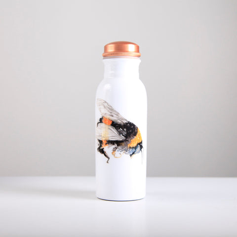 Bee Copper Water Bottle 750ml  (trade min 4)