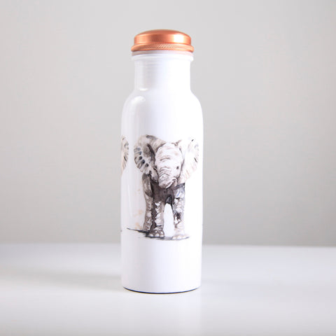 Elephant Baby Copper Water Bottle 750ml  (min 4) ***In Stock April 2020 - Pre-Order Now***