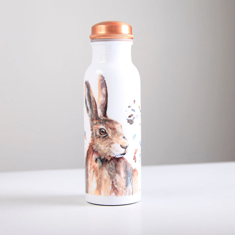 Hare Copper Water Bottle 750ml  (trade min 4)