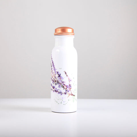 Heather Copper Water Bottle 750ml  (min 4) ***In Stock April 2020 - Pre-Order Now***