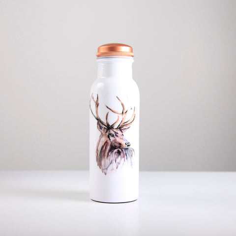 Stag Copper Water Bottle 750ml  (trade min 4)
