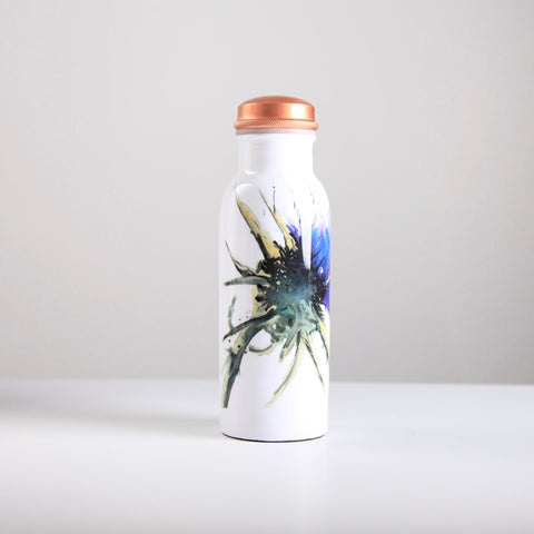 Thistle Copper Water Bottle 750ml  (trade min 4)