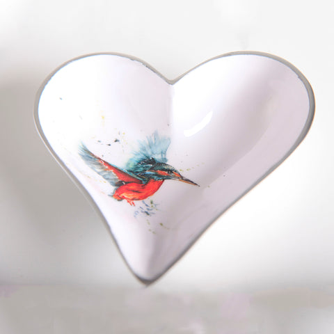 Kingfisher Heart Dish Small (min 4)