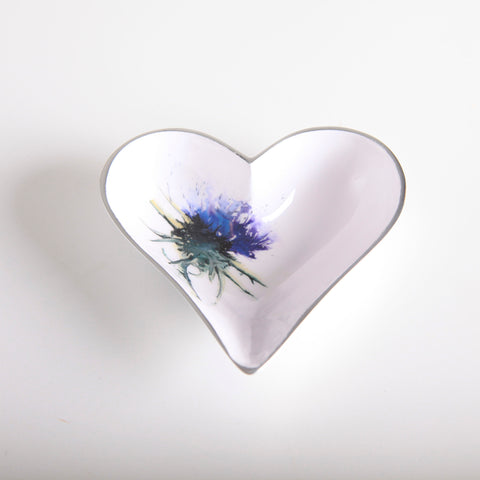 Thistle Heart Dish Small (trade min 4)