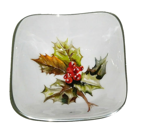 Holly Square Bowl (min 2)