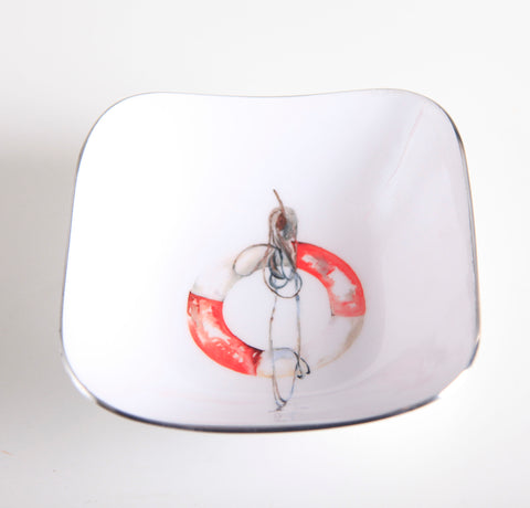 Life Buoy Square Bowl (min 4)