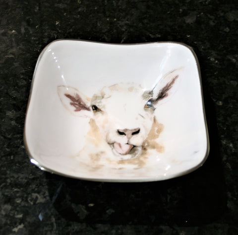 Sheep Square Bowl (min 2)