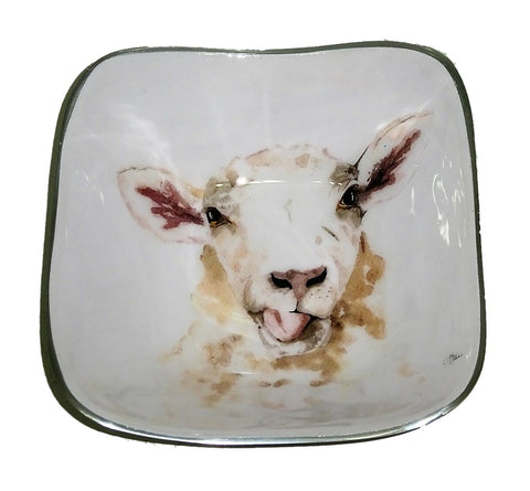 Sheep Square Bowl (min 4)