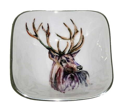 Stag Square Bowl (Trade min 4 / Retail min 1)