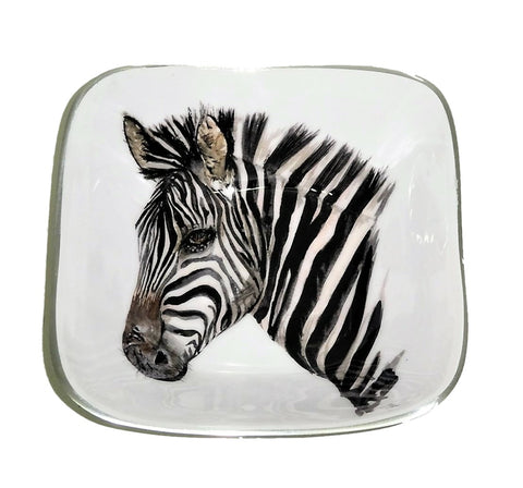 Zebra Square Bowl (min 2)