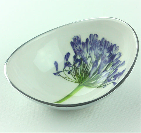 Agapanthus Oval Bowl Small (min 4)