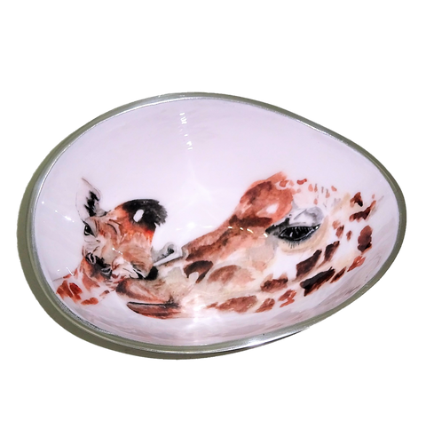 Giraffe Oval Bowl Small (min 4)