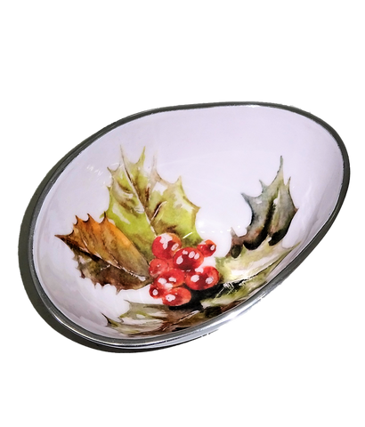 Holly Oval Bowl Small (Trade min 4 / Retail min 1)