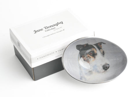 Jack Russell Oval Bowl Small (trade min 4)