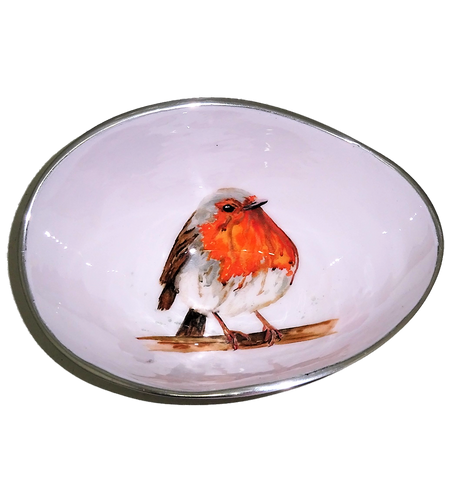 Robin Oval Bowl Small (trade min 4)