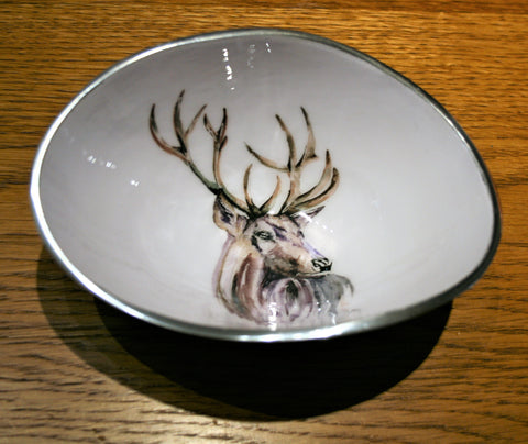 Stag Oval Bowl Small (trade min 4)