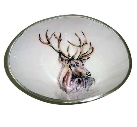 Stag Oval Bowl Small (min 4)