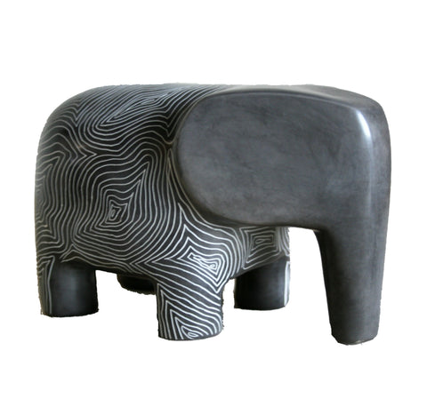 Champagne Grey Serengeti Elephant 18cm (min 3) Limited Stock