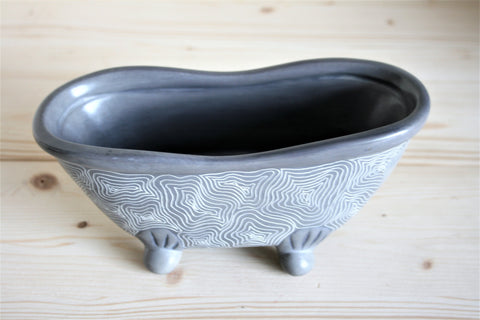 Champagne Grey Bath Bowl 20cm *In Stock From April 2018*