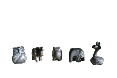 Mini Champagne Grey Animals 3 cm (24 display box - min 24)