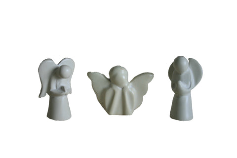 Assorted Mini Natural Angels (24 per display box - min 24) *In Stock From April 2018*