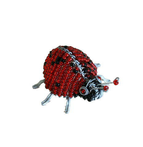 Beaded Ladybird 4 cm (min 6) *In Stock From April 2018*