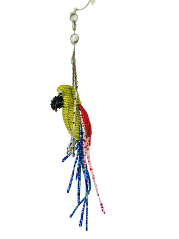 Beaded Parrot 35 cm (min 1) *In Stock From April 2018*