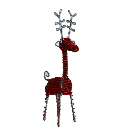 Beaded Reindeer Large 18 cm (min 2)