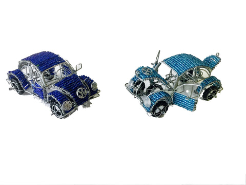 Beaded VW Beetle 12 cm (trade min 2)