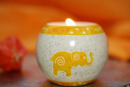 Meru Animal Ball Tealights (min set of 6)