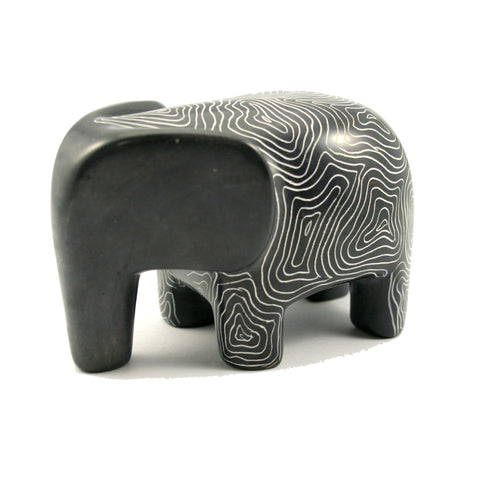 Champagne Grey Serengeti Elephant 10cm (trade min 3)