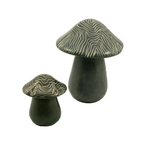 Champagne Grey Mushroom 5cm (min 6) *NEW PRODUCT FOR 2017*