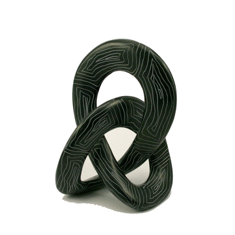 Champagne Grey Love Knot 10cm (trade min 6)
