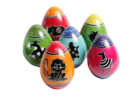 Funky Animal Eggs (12 per display box - min 12)